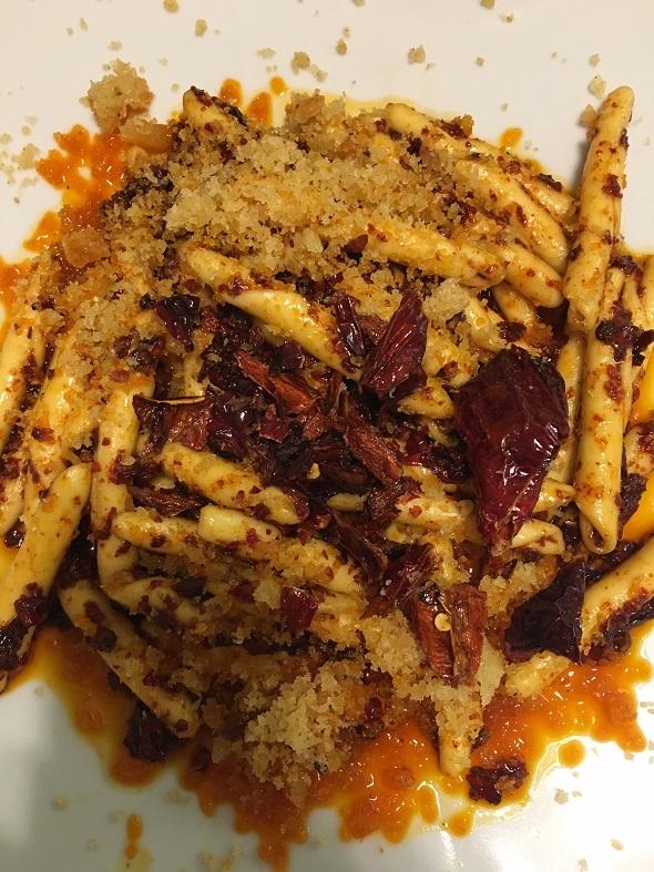 Piatti tipici a Matera il peperone crusco