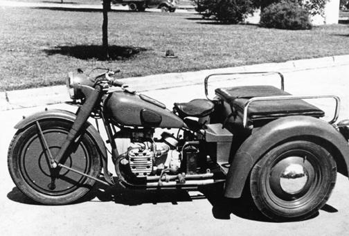 Gm Delco Wwii Trike Prototype
