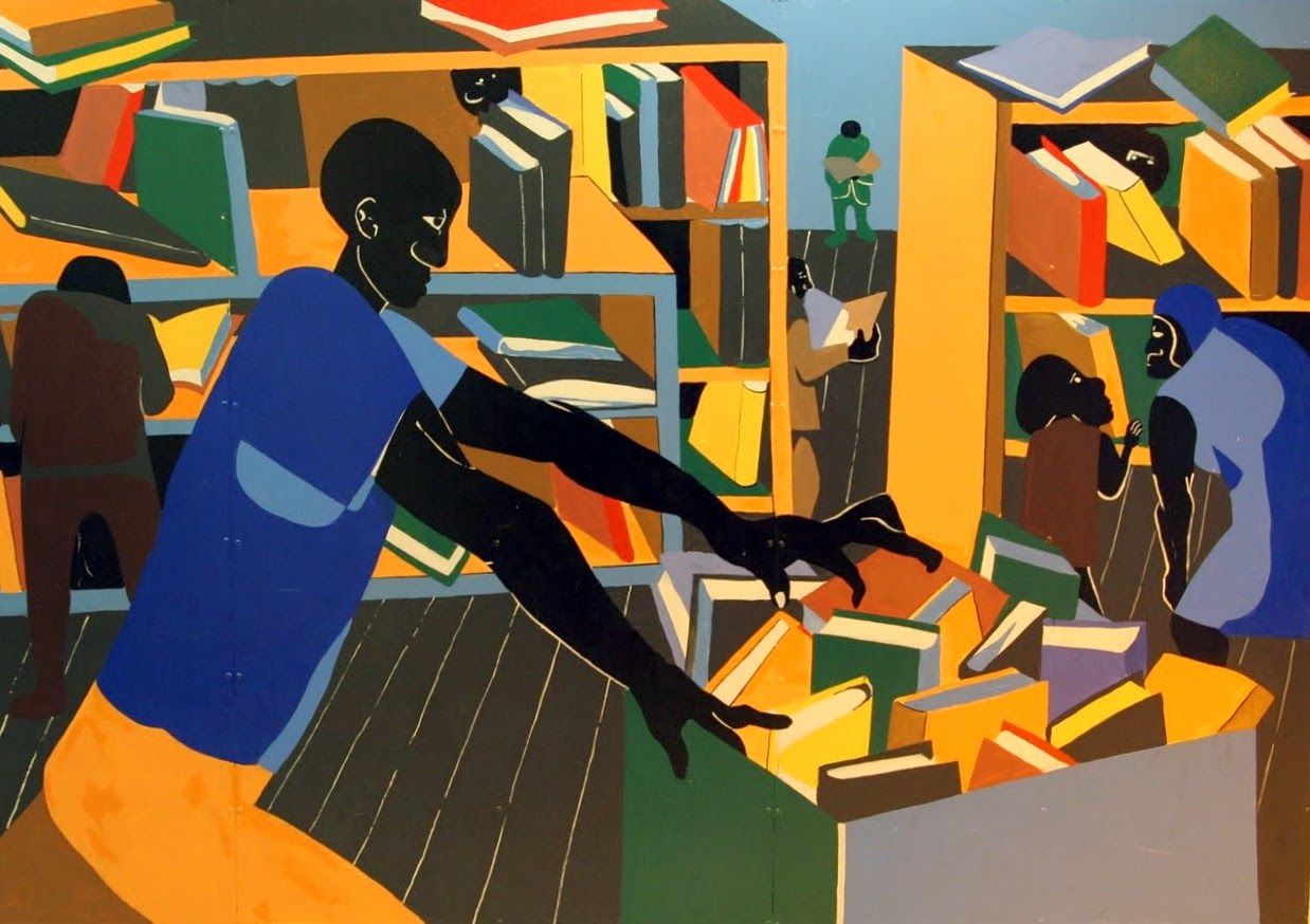 Jacob Lawrence Library