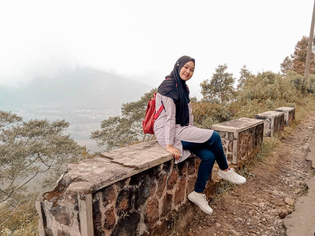 Puncak Gunung Telomoyo Magelang Jawa Tengah