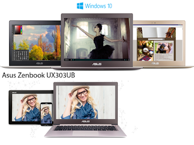 Performa Asus Zenbook UX3033UB Luar Biasa