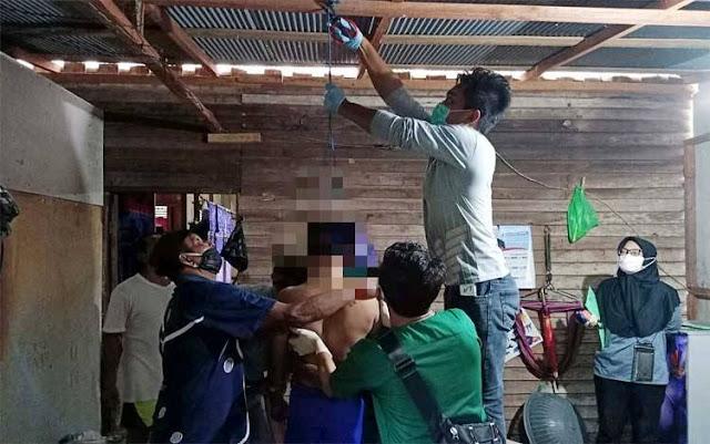 Seorang Pria di Lotim Gantung Diri, Kasus Bunuh Diri Makin Meningkat di Lombok!