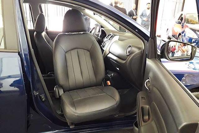 Nissan Versa para personas con discapacidad