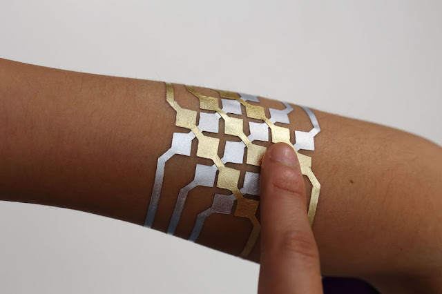 Researchers at MIT create DuoSkin, a tattoo that can control your smartphone or computer