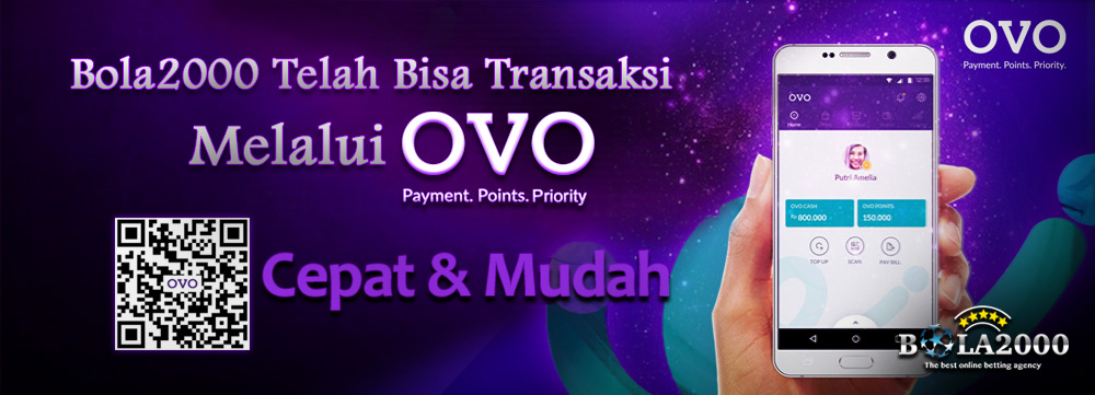 Deposit mudah dengan menggunakan ovo