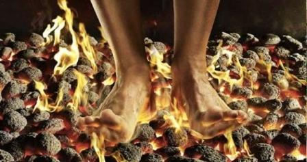 Berjalan di Atas Api