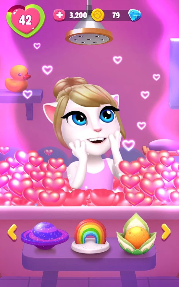 My Talking Angela 2 v1.0.1.87 MOD, Unlimited Money - Game Casual cho điện thoại