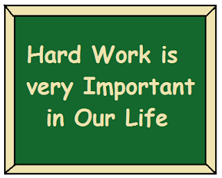 Essay on the Importance of Hard work in Hindi
