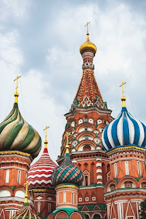 Saint Basil's Cathedral of Moscow Russia