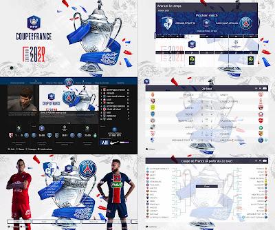 PES 2021 Graphic Pack Coupe de France AIO by Milwalt