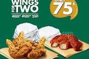 Promo Wingstop Harga Spesial Paket Makan Berdua Rp.75.000 Periode 16 - 31 Maret 2020
