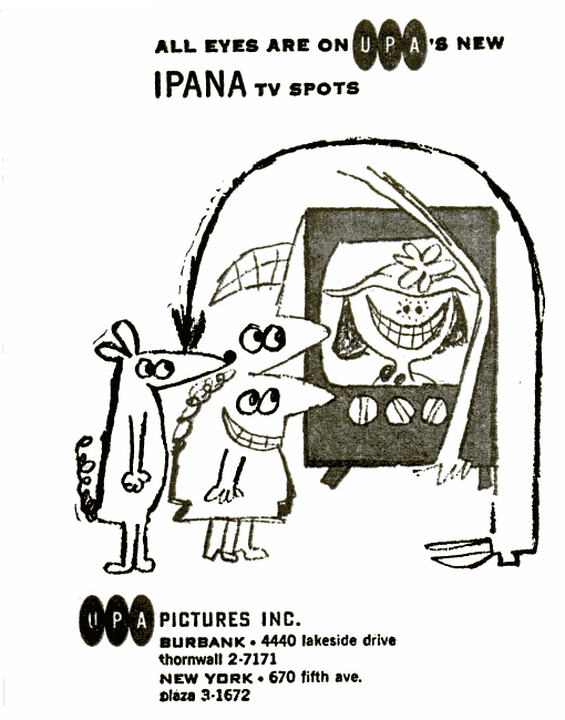 Tralfaz Cartoon Commercials 1955