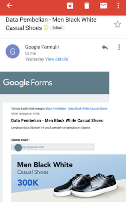 Cek inbox email