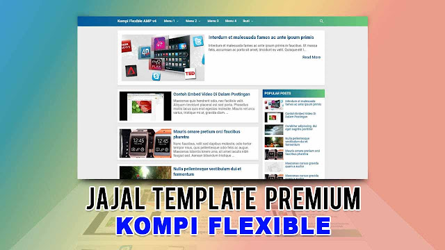 Template Premium Kompi Flexible