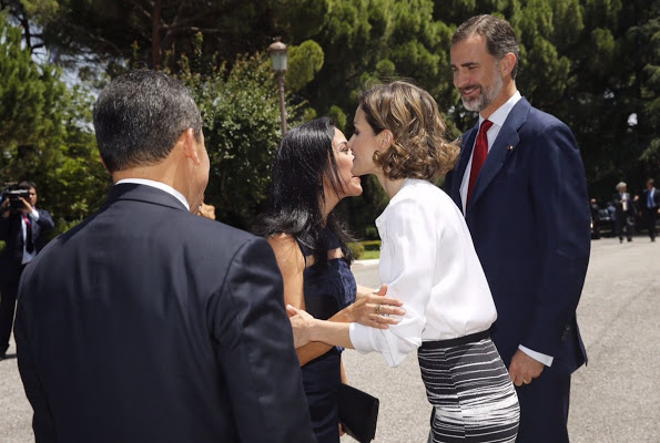 King Felipe And Queen Letizia Meet President Of Peru