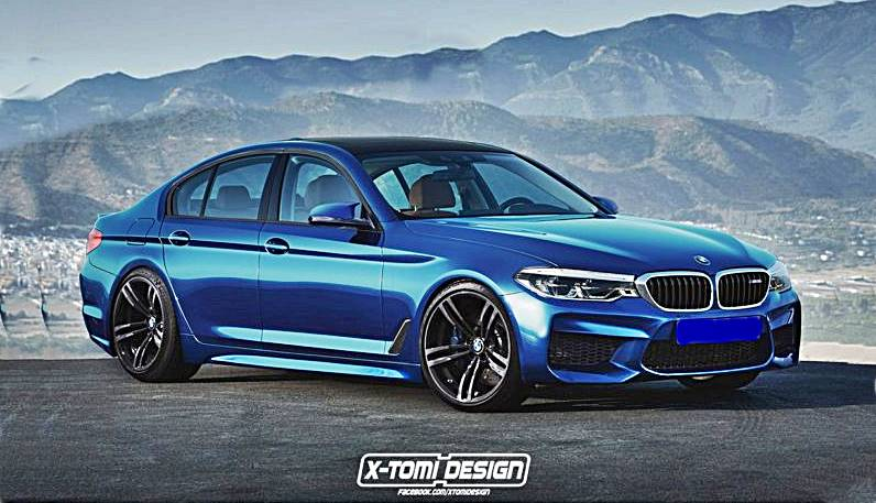 2018 Bmw F90 M5 Rendering By X Tomi Design Auto Bmw Review