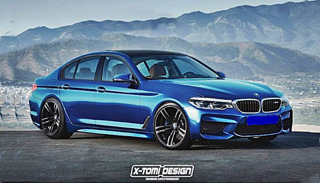 2018 BMW F90 M5 Rendering By X-Tomi Design