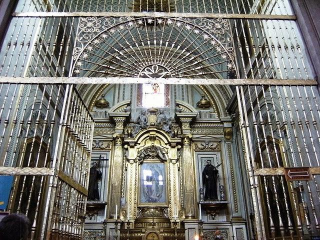 Capilla de Nuestra Señora de Guadalupe en la Catedral Basílica de Puebla, uno de los lugares en Puebla para guadalupanos de corazón