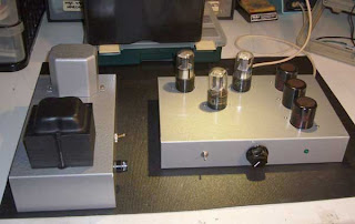 6SL7 Phono 6SN7 Single Gain Line Stage No Cathode Follower Simple CLC PS