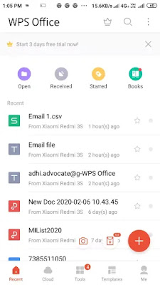 How to create .CSV file from mobile phone very easy. .CSV फ़ाइल कैसे बनाये.