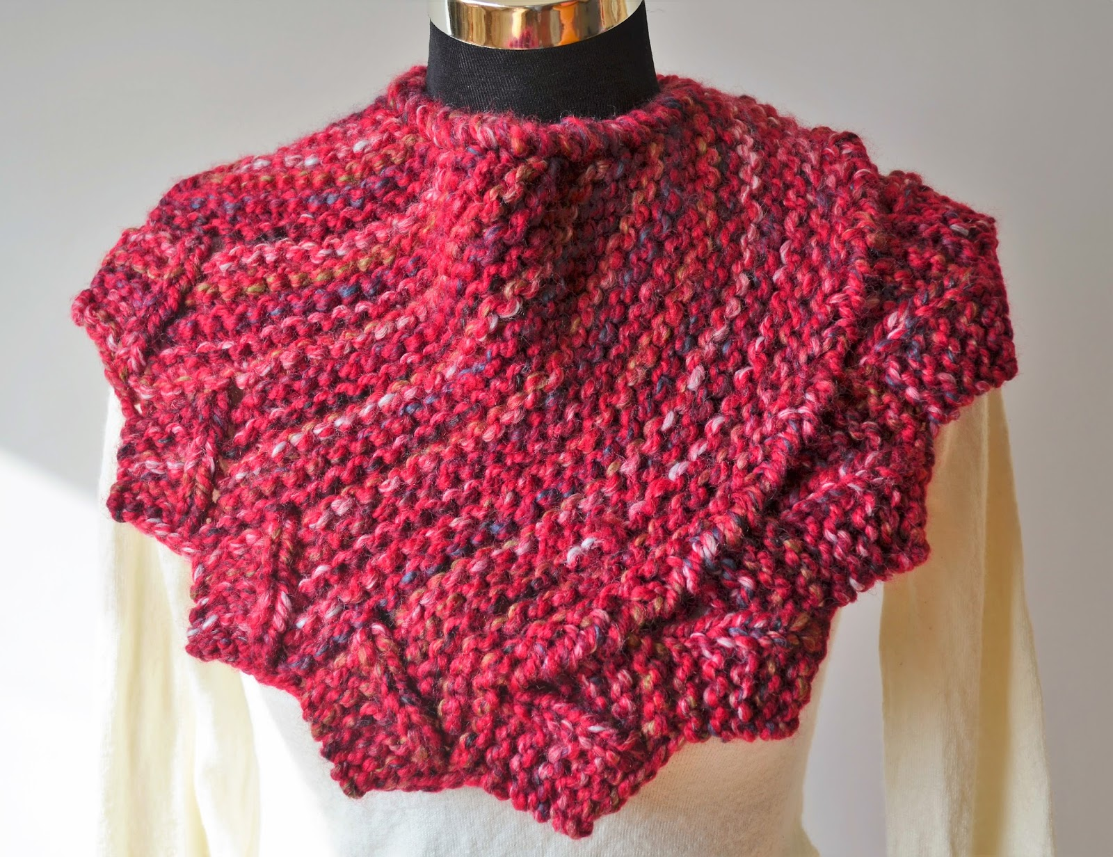 Knitting Terminology Yo : Wiam s crafts dragon fire cowl