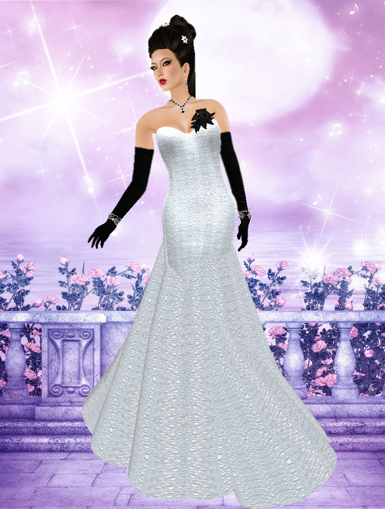 32464d344 (blush) I was very stunned and thrilled..Thank you Nando for creating  beautiful dress and naming them after me! Hugs Hugs... Gown  Angel Dessous  ...