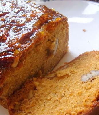 Sticky Marmalade Tea Loaf
