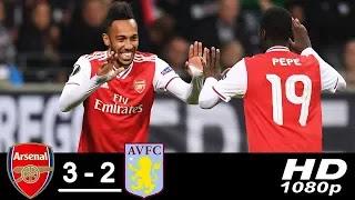 Arsenal vs Aston Villa 3-2 All Goals And Match Highlights [MP4 & HD VIDEO]