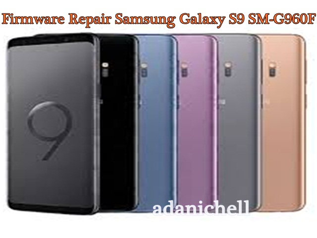Firmware Repair Samsung Galaxy S9 SM-G960F