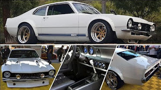 1970 Ford Maverick White Color