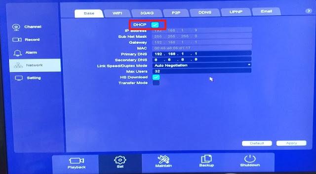Cara setting modem USB untuk CCTV