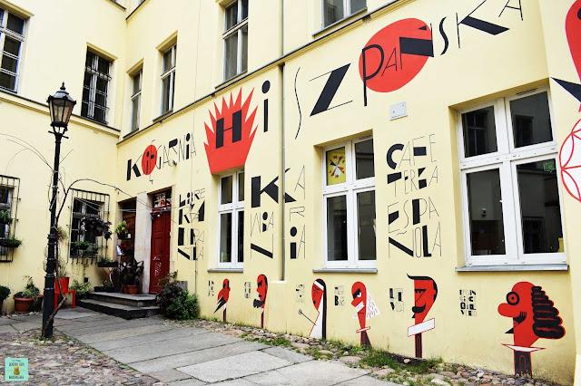 Librería española en Wroclaw, Polonia