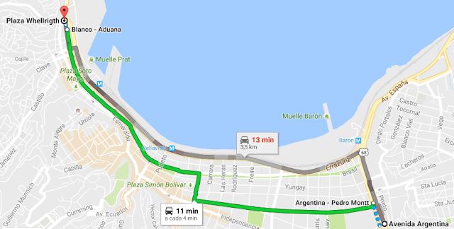 Regiões de Valparaíso no Chile