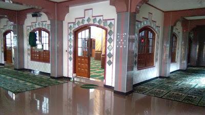 Kondisi Ruangan Mesjid