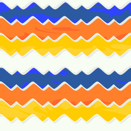 repeating colorful background with waves