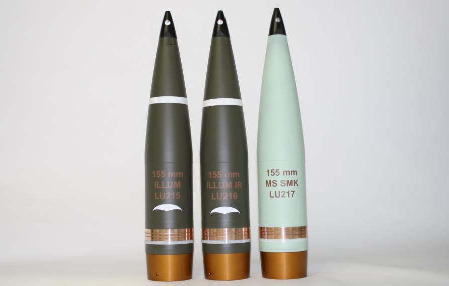 Артилерійські снаряди виробництва Nexter Group