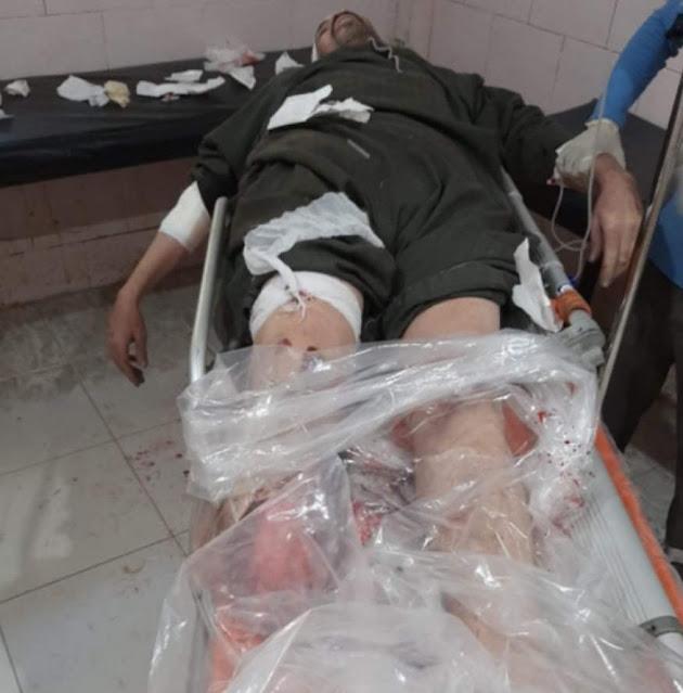 مصرع موظف صدمه قطار أثناء عبوره مزلقان مغلق بسوهاج