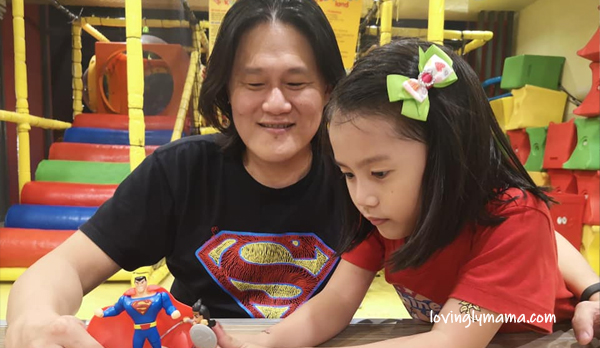 quality time with each child - Bacolod mommy blogger - parenting - motherhood - Jollibee - mother and daughter - father and daughter relationship - family relationships - homeschooling in Bacolod - field trip - Jollibee - Marvel toys - superheroes
