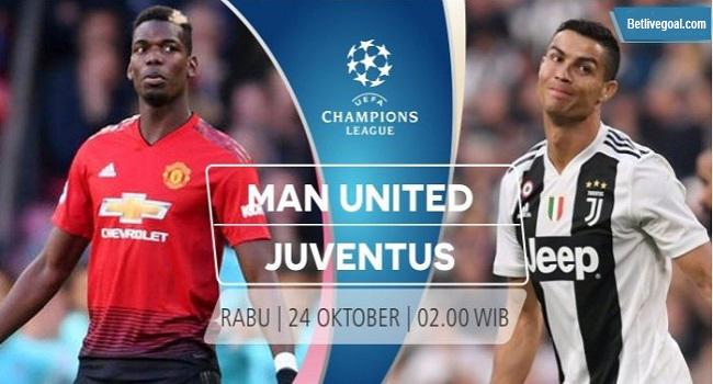 siaran langsung manchester united vs juventus 24 oktober 2018