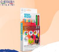 Cartoleria Italiana : vinci gratis uno dei 5 Kit Chameleon Kidz Creativity