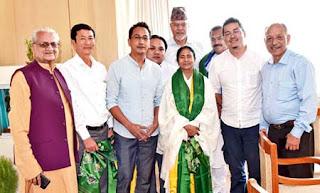 Mann Ghisingh meets Mamata at Nabanna