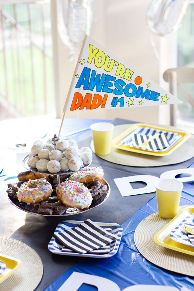 Dad is Rad Father's Day Party ideas!