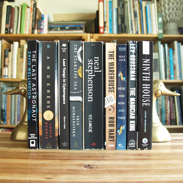 Collection of uncorrected proofs, mostly science fiction and fantasy titles