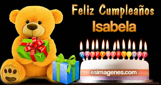 Feliz Cumpleaños Isabela
