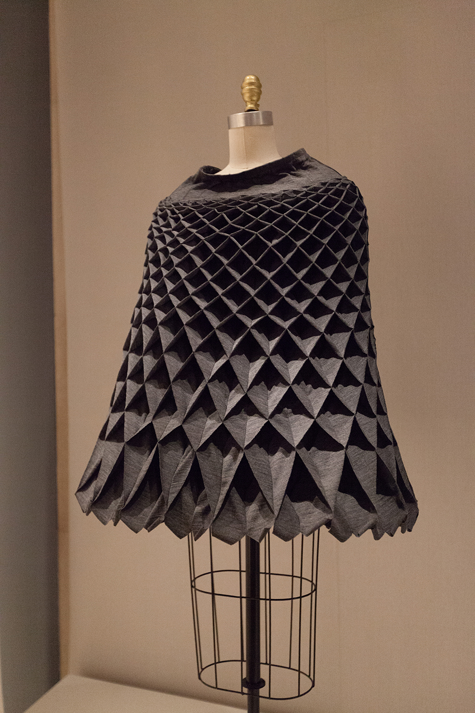 Modern Egg Carton Dress 2015