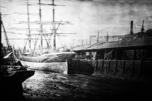 Thirlmere berthed at Sugar Tongue 1874