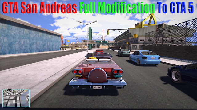 GTA San Andreas Full Modification To GTA 5 Mod Pack