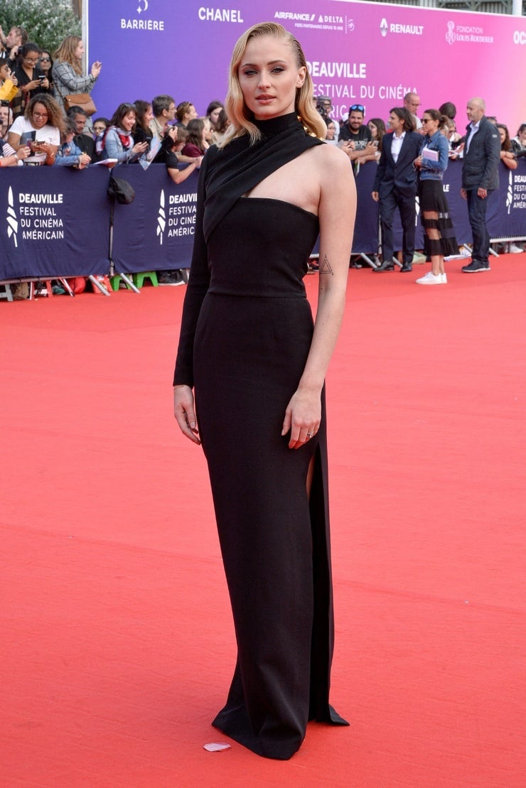 Sophie Turner wears Louis Vuitton to the Heavy 45th Deauville American Film Festival
