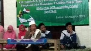 KH. M. Imamuddin : Guru Agama Harus Bersanad Sampai Rosulullah