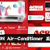 疯狂大减价!ACSON Air-Conditioner 买一送一!